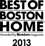 We were awarded Best of Boston Home 2013 by Boston Magazine.