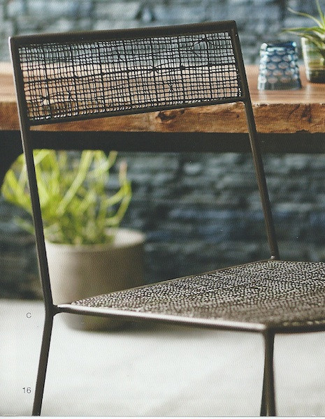 Mesh Metal Chair