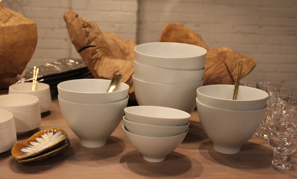 essence of life bowls - japanese style + craftsmanship - wonderful feel - great shapes $22 to $48 nice to pair with a special ramen recipe