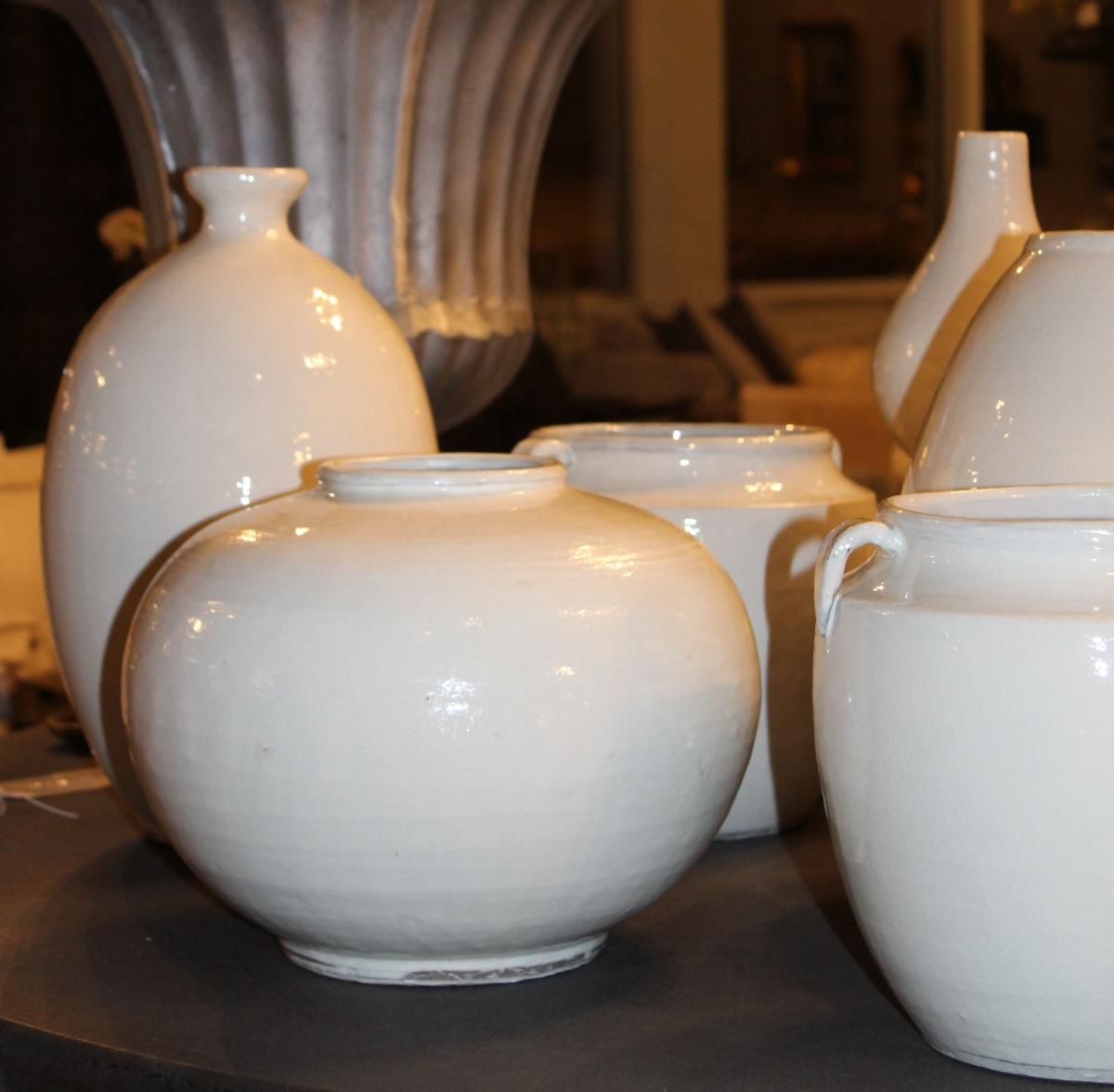 white vessels - sculptural