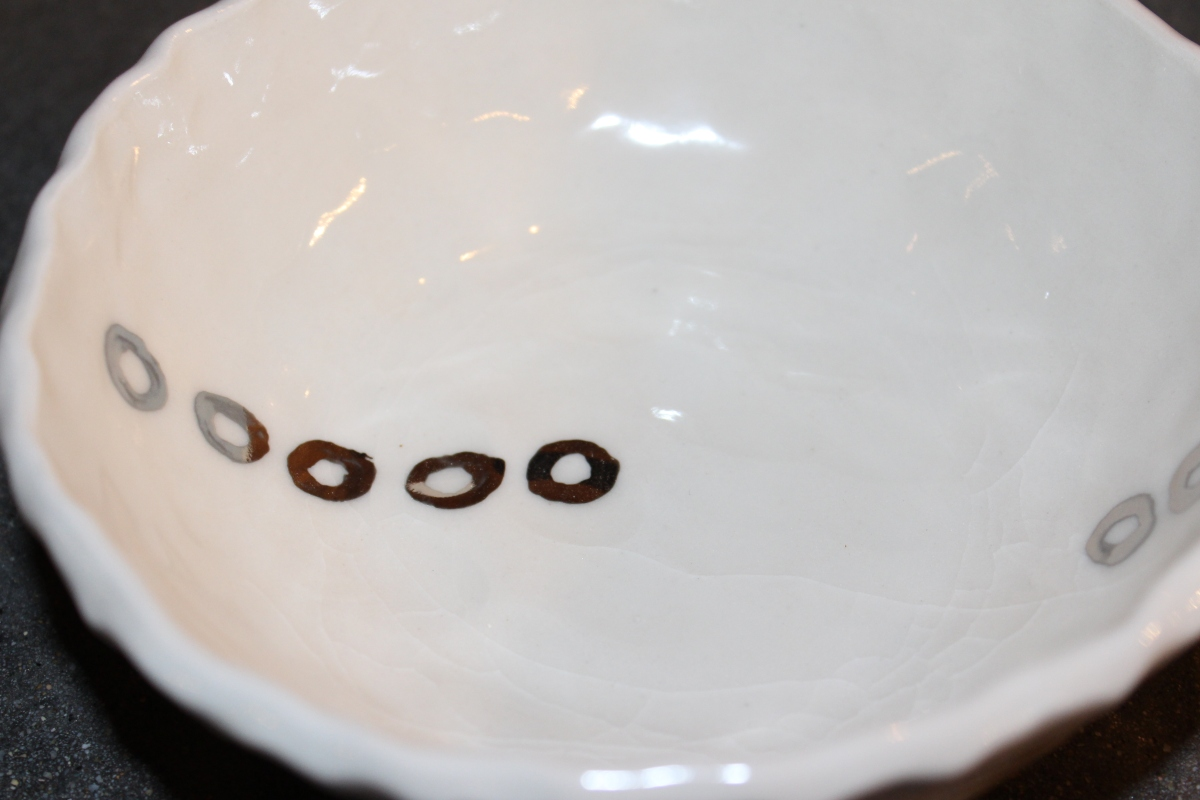 fancy bowls are back...platinum rings