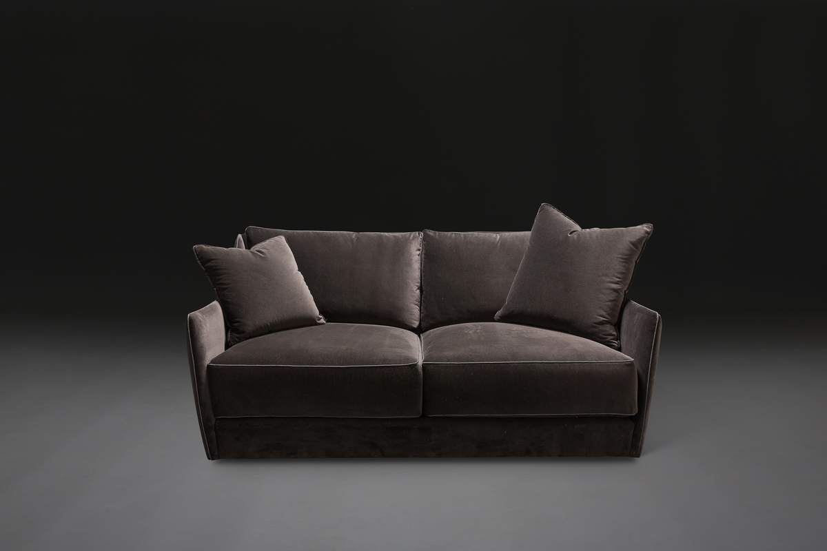 mabel loveseat - in velvet...perfect seat for 2