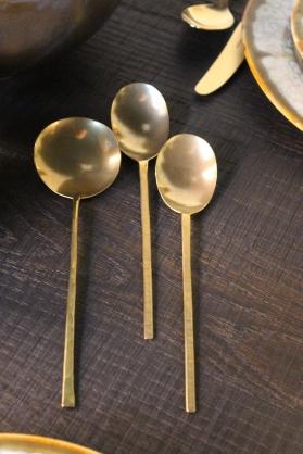 hand made brass serving pieces