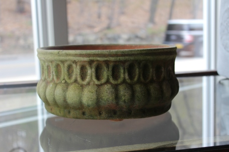 the trojan planter - wonderful on a table, stone wall ....most anywhere