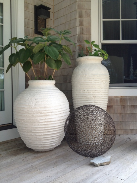 beehives - delightful, sculptural, handsome planted or 'bare' - great inside or out available in 5 sizes, limestone, lead grey or matte black