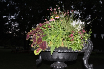 making the chelsea urn oh so colorful (and not at all boring or stuffy)