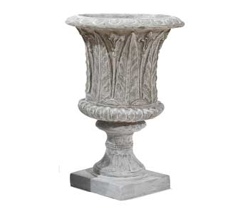 the fern urn (often selected for the White House at Christmas)