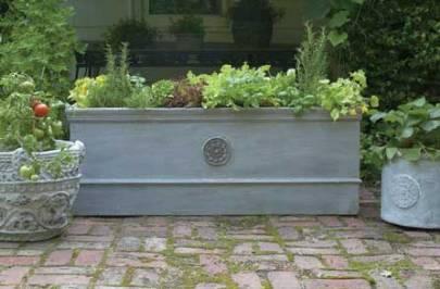 easy vegetable garden - very posh