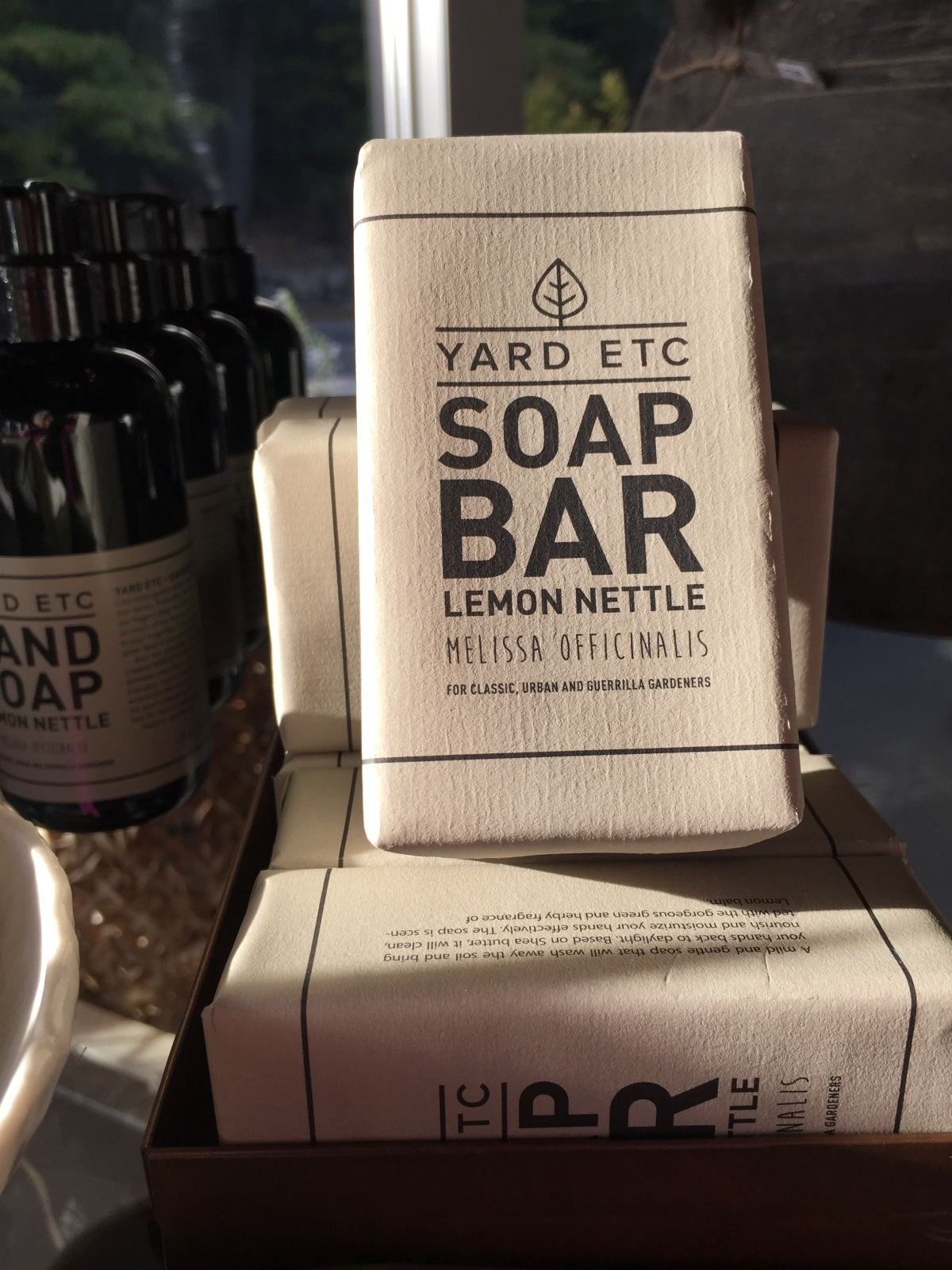 yard etc bar soap