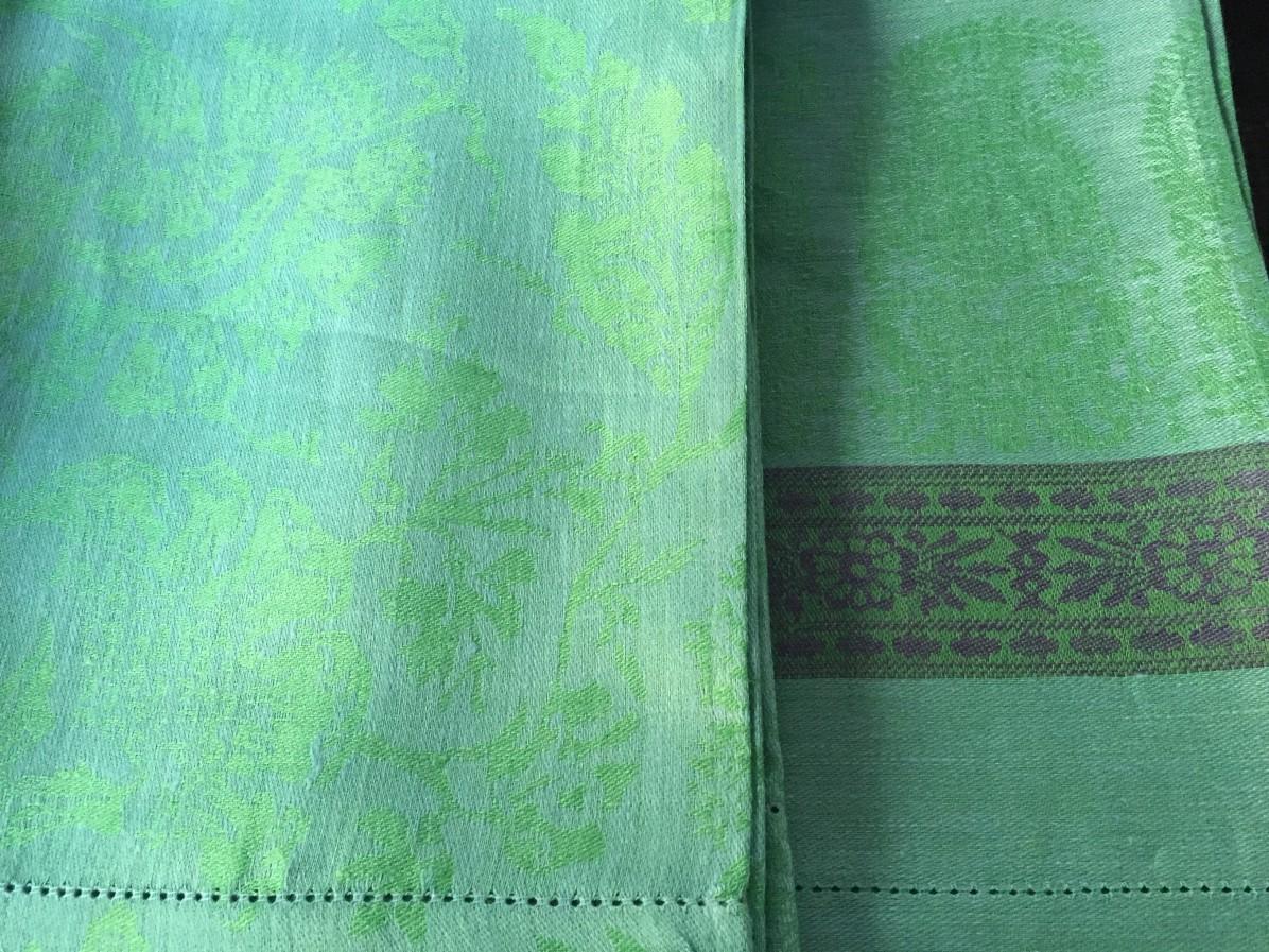 linen tea towels...brilliant!