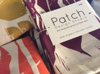 cotton tea towels from patch - brilliant, organic, great gift