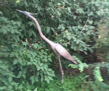 tall blue heron pennoyer newman artefact home|garden
