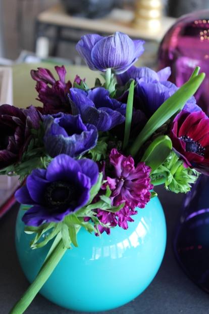 spring purples in turq vase 2