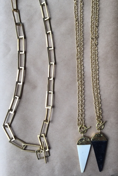 necklaces brass kenya