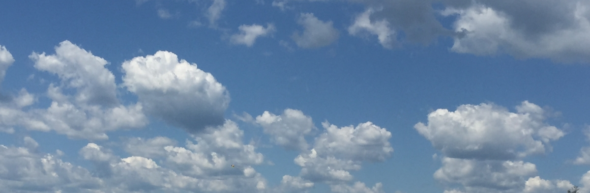 perfect maine sky