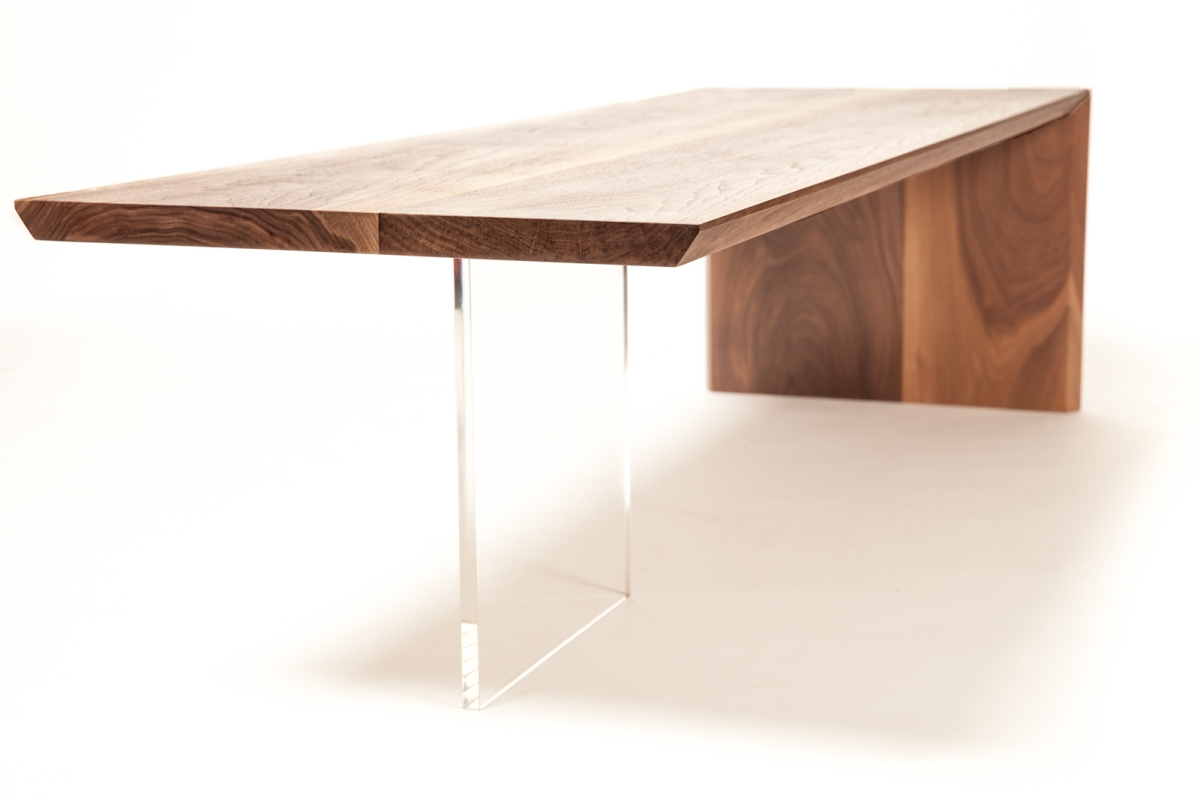 walnut waterfall cocktail table@artefacthome