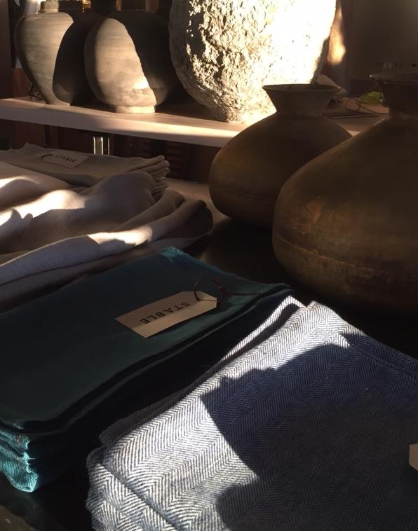 irish linen, pakastani brass, chinese clay@artefacthome.com