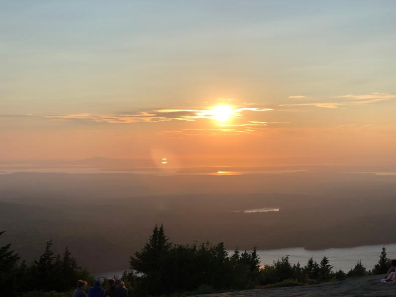 acadia national park-cadillac mountain-sunset 3