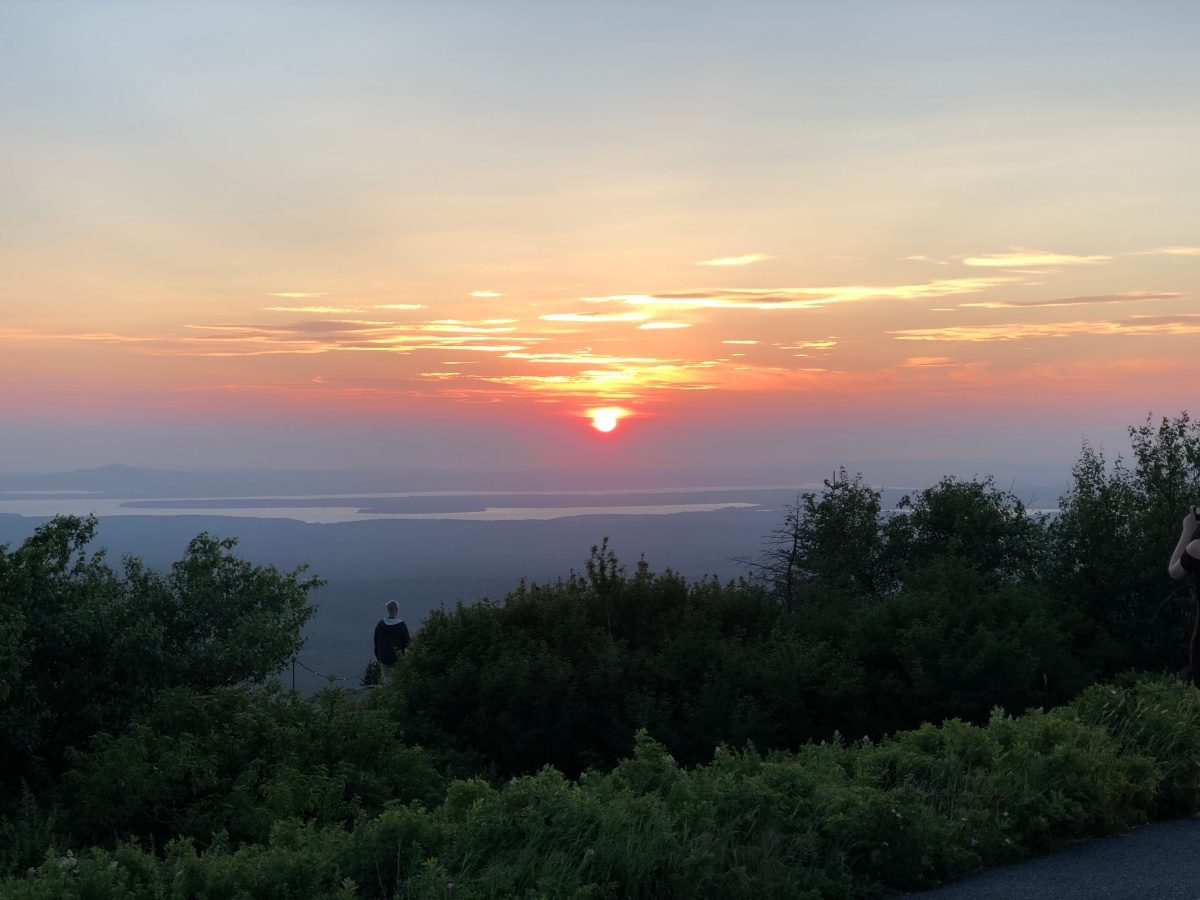 acadia national park-cadillac mountain-sunset 7